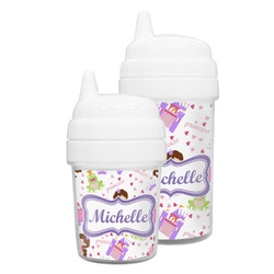 Princess Print Sippy Cup (Personalized)