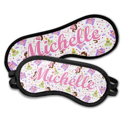 Princess Print Sleeping Eye Masks (Personalized)
