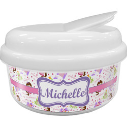 Princess Print Snack Container (Personalized)