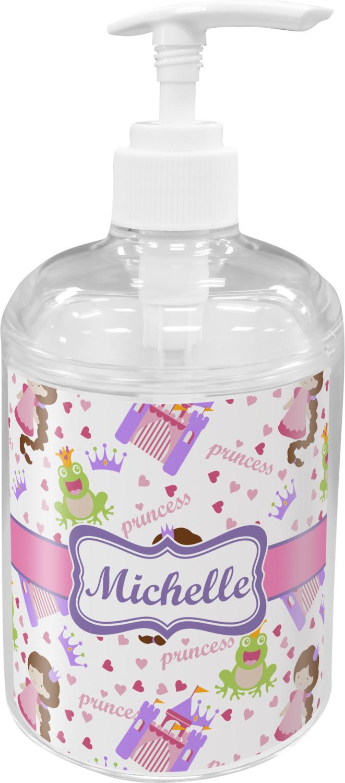 Princess Print Soap Lotion Dispenser Personalized Youcustomizeit