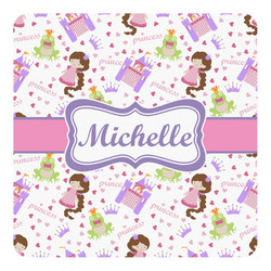 Princess Print Square Decal - Custom Size (Personalized)