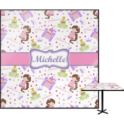 "Princess Print Square Table Top - 30"" (Personalized)"