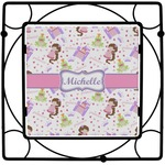 Princess Print Square Trivet (Personalized)