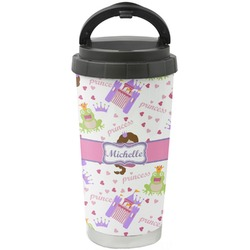Princess Print Stainless Steel Travel Mug (Personalized)