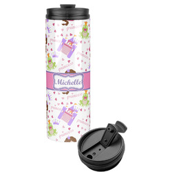 Princess Print Stainless Steel Tumbler (Personalized)