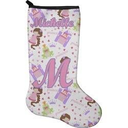 Princess Print Holiday Stocking - Neoprene (Personalized)