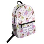 Princess Print Student Backpack (Personalized)