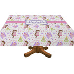 Princess Print Rectangle Tablecloth (Personalized)