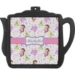 Princess Print Teapot Trivet (Personalized)