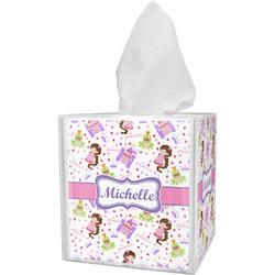 Princess Print Tissue Box Cover (Personalized)