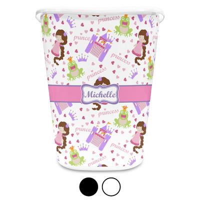 Princess Print Waste Basket (Personalized)