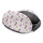 Princess Print Travel Neck Pillow