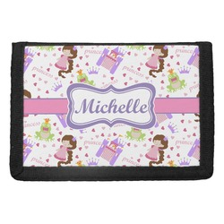 Princess Print Trifold Wallet (Personalized)