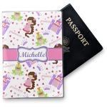 Princess Print Vinyl Passport Holder (Personalized)