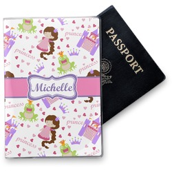 Princess Print Vinyl Passport Holder (Personalized)