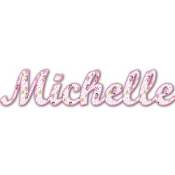 Princess Print Name/Text Decal - Custom Sized (Personalized)