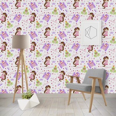 Princess Print Wallpaper & Surface Covering (Peel & Stick - Repositionable)