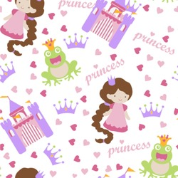 Princess Print Wallpaper & Surface Covering
