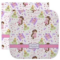 Princess Print Facecloth / Wash Cloth (Personalized)