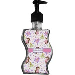 Princess Print Wave Bottle Soap / Lotion Dispenser (Personalized)