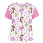 Princess Print Women's Crew T-Shirt (Personalized)