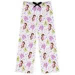 Princess Print Womens Pajama Pants (Personalized)