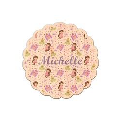Princess Print Genuine Wood Sticker (Personalized)