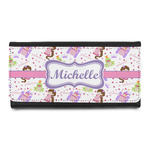 Princess Print Leatherette Ladies Wallet (Personalized)