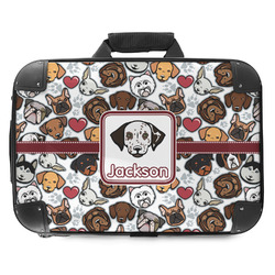 Dog Faces Hard Shell Briefcase (Personalized)