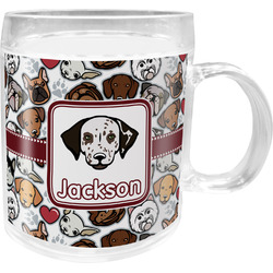 Dog Faces Acrylic Kids Mug (Personalized)