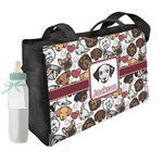 Dog Faces Diaper Bag (Personalized)