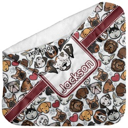 Dog Faces Baby Hooded Towel (Personalized)