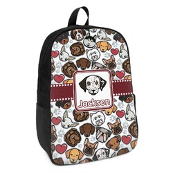 Dog Faces Kids Backpack (Personalized)