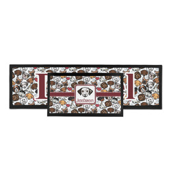 Dog Faces Bar Mat (Personalized)