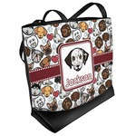 Dog Faces Beach Tote Bag (Personalized)