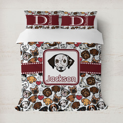Dog Faces Duvet Covers (Personalized)
