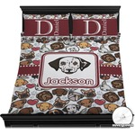 Dog Faces Duvet Cover Set (Personalized)