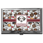 Dog Faces Business Card Holder