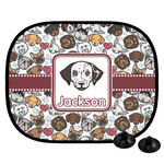 Dog Faces Car Side Window Sun Shade (Personalized)