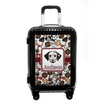 Dog Faces Carry On Hard Shell Suitcase (Personalized)