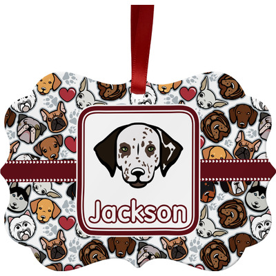 Dog Faces Ornament (Personalized)