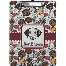 Dog Faces Clipboard (Personalized)