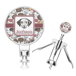 Dog Faces Corkscrew (Personalized)