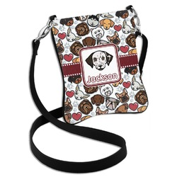 Dog Faces Cross Body Bag - 2 Sizes (Personalized)