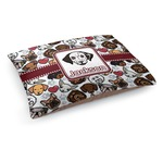 Dog Faces Dog Bed (Personalized)