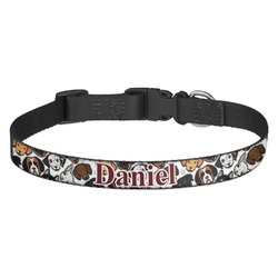 Dog Faces Dog Collar - Multiple Sizes (Personalized)