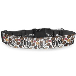 Dog Faces Deluxe Dog Collar (Personalized)