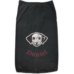 Dog Faces Black Pet Shirt (Personalized)