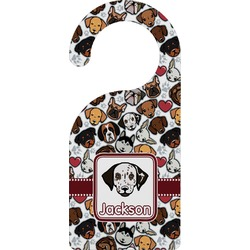 Dog Faces Door Hanger (Personalized)
