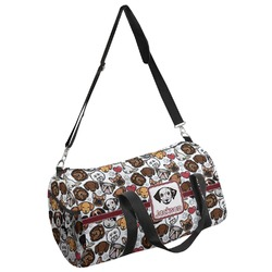Dog Faces Duffel Bag (Personalized)